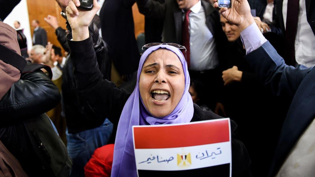 """الحكم بـ """"مصرية"""" تيران وصنافير يغزو تويتر.. وحركة 6 آبريل: على السلطة الحاكمة تقديم إستقالتها"""