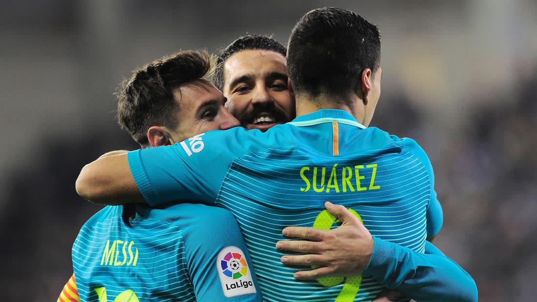 برشلونة يكتسح إيبار وإشبيلية وصيف القسم الأول في إسبانيا