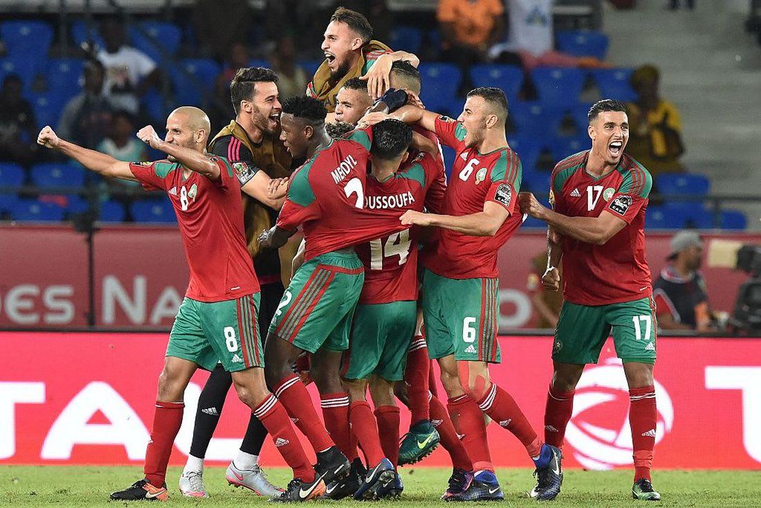 فيديو مفاجئ ساهم في رفع عزيمة اللاعبين المغاربة قبل مواجهة ساحل العاج