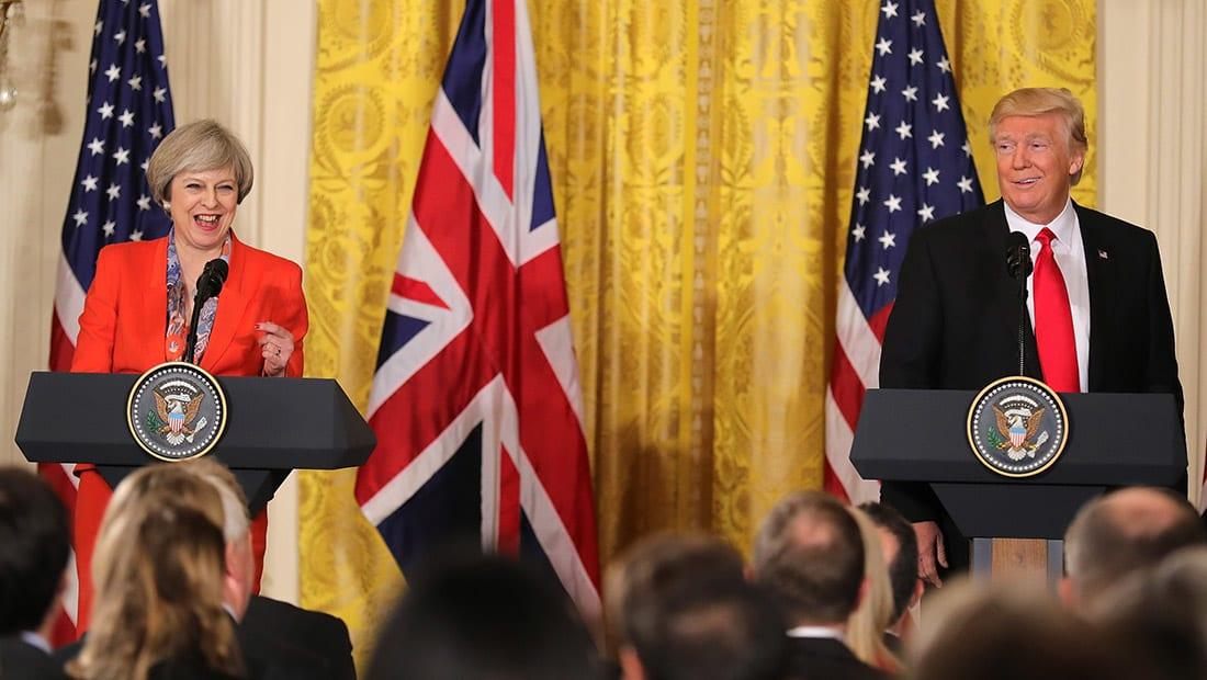 ترامب: من المبكر جدا الحديث عن رفع العقوبات عن روسيا.. وعلاقتي بتيريزا ماي ستكون رائعة