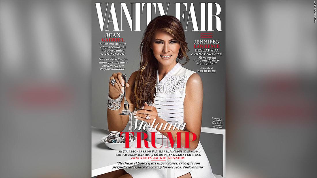 وسط التوتر بين الدولتين.. ميلانيا ترامب تظهر على غلاف مجلة مكسيكية