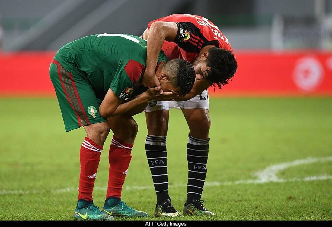 حسرة في المغرب على إقصاء المنتخب أمام مصر.. وإشادة بقتالية اللاعبين وأدائهم