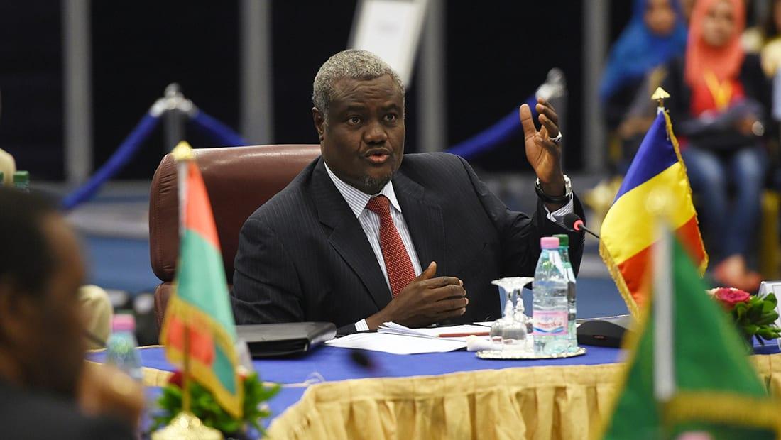 موسى فكي رئيسا جديدا لمفوضية الاتحاد الأفريقي خلفا للجنوب إفريقية زوما