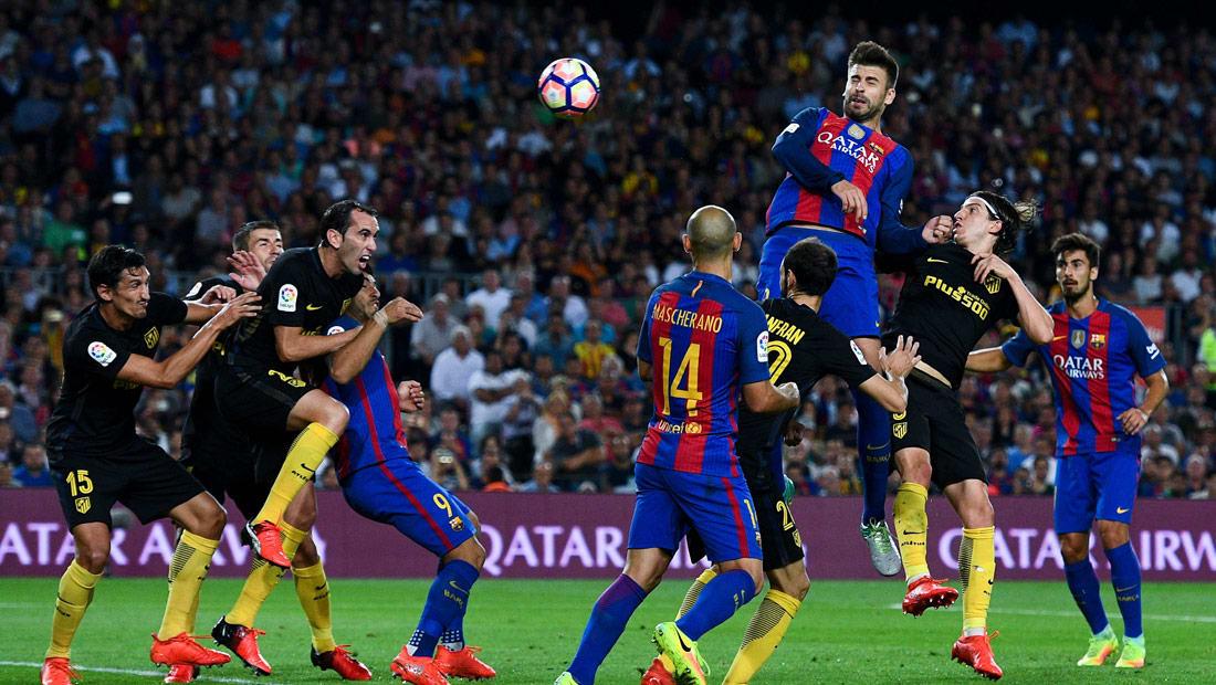 برشلونة يطمح لتجاوز أزمته أمام أتلتيكو مدريد في الكأس