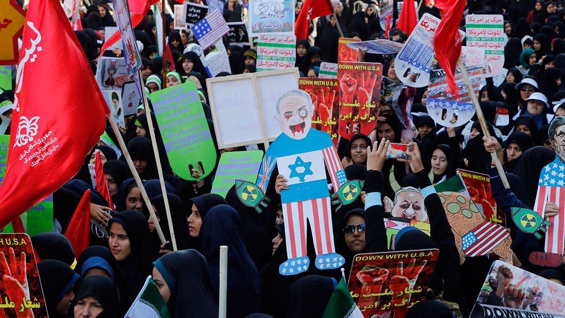 """إيران لترامب: لا تنخدع بـ""""تحريض"""" الملك سلمان ونتنياهو.. واحذر من جرك إلى التهلكة"""