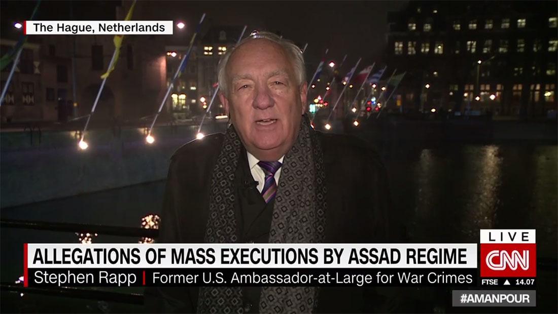 """دبلوماسي أمريكي سابق لـCNN عن """"صيدنايا"""": جرائم ترتكبها مؤسسات تحت إمرة الأسد"""