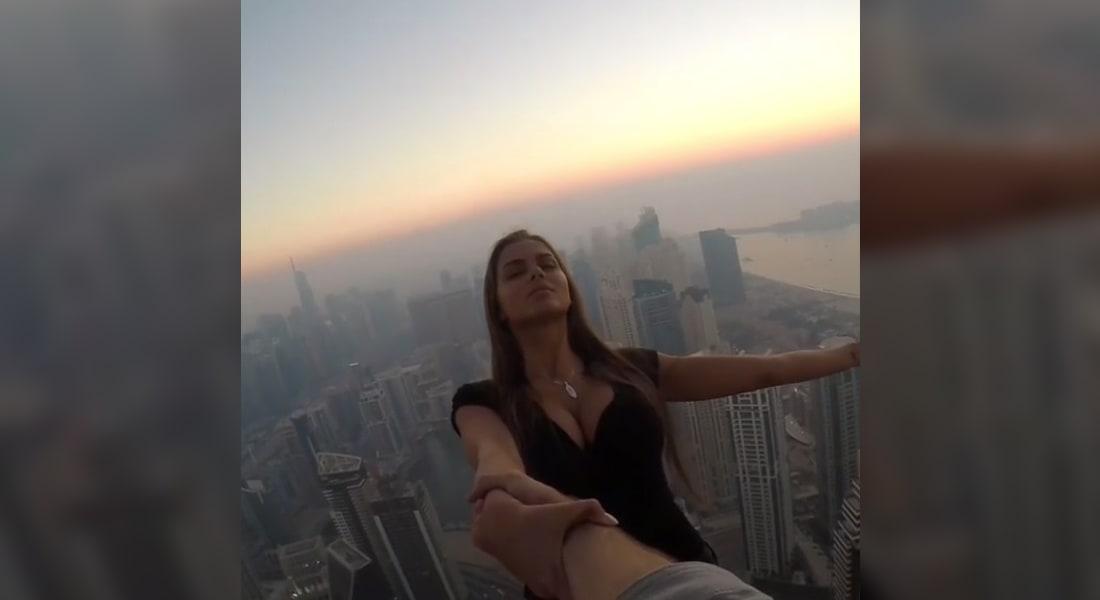 """دبي.. إدارة برج """"كيان"""" تتخذ خطوات قانونية ضد عارضة الأزياء الروسية فيكي أودنتكوفا"""