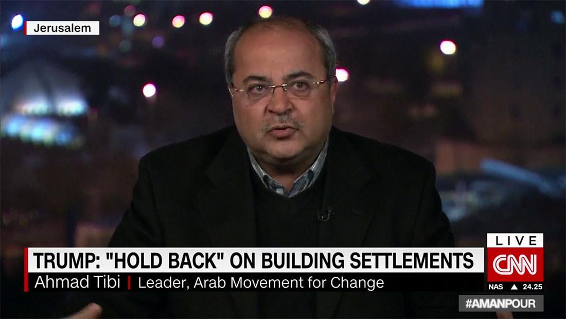 نائب عربي بالكنيست الإسرائيلي لـCNN: يمكن اعتبار حل الدولة الواحدة إذا كانت ديمقراطية