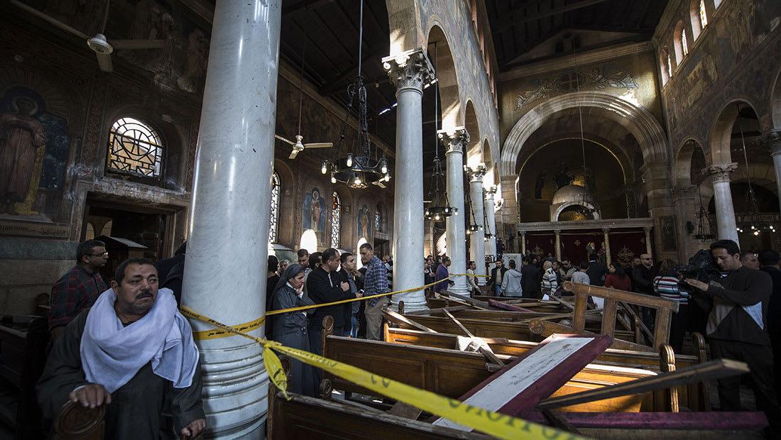 فيديو منسوب لداعش يُظهر وصية الانتحاري المفترض بهجوم الكنيسة المرقسية