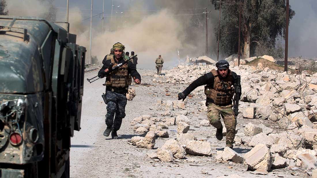 """القوات العراقية تستعيد السيطرة على مطار الموصل من قبضة """"داعش"""""""