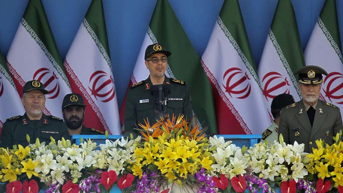 رئيس الأركان الإيراني: لدينا رصد استخباراتي كامل للمنطقة.. وجاهزون للرد والردع