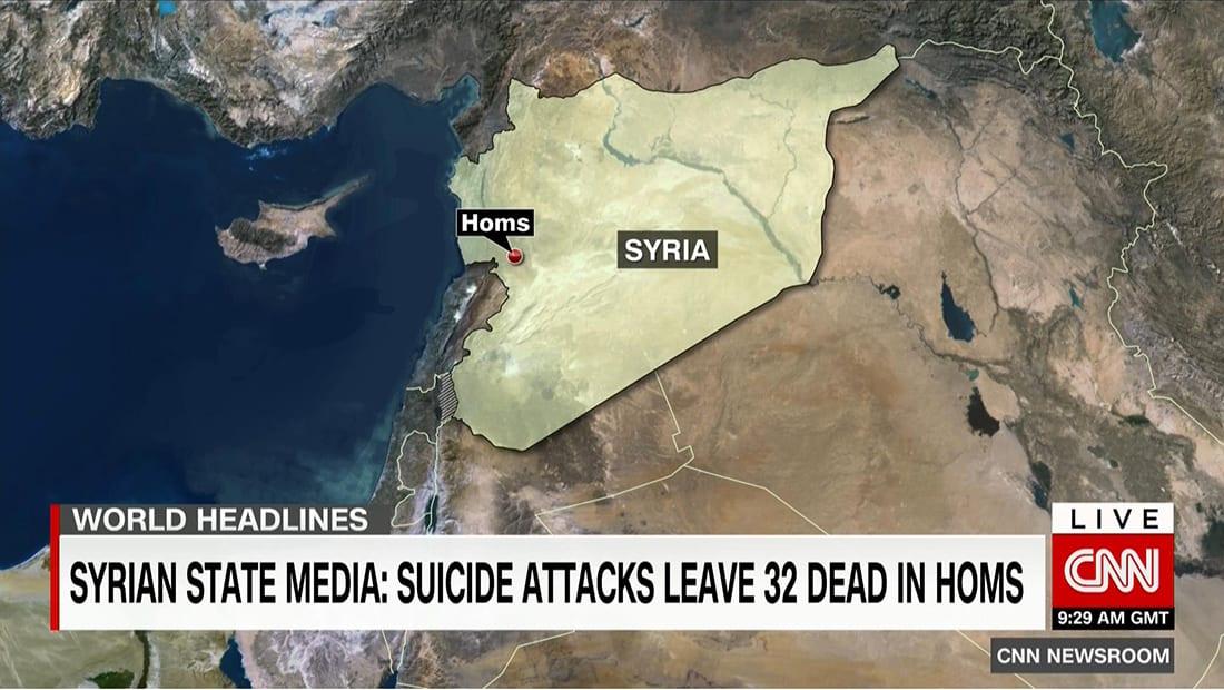 تلفزيون سوريا: انفجاران بحمص.. والمرصد: بين القتلى ضابط برتبة عميد