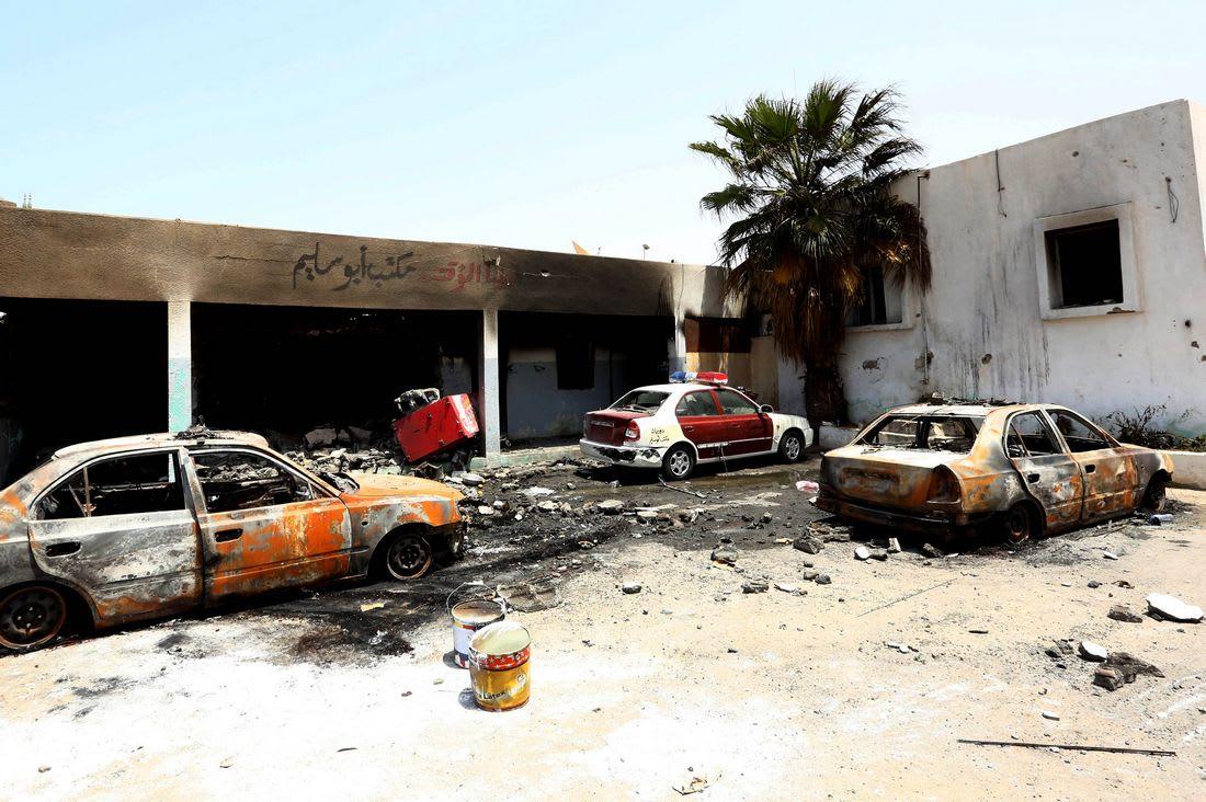 قتلى وجرحى عند إعلان نهاية الاقتتال في أبو سليم بطرابلس
