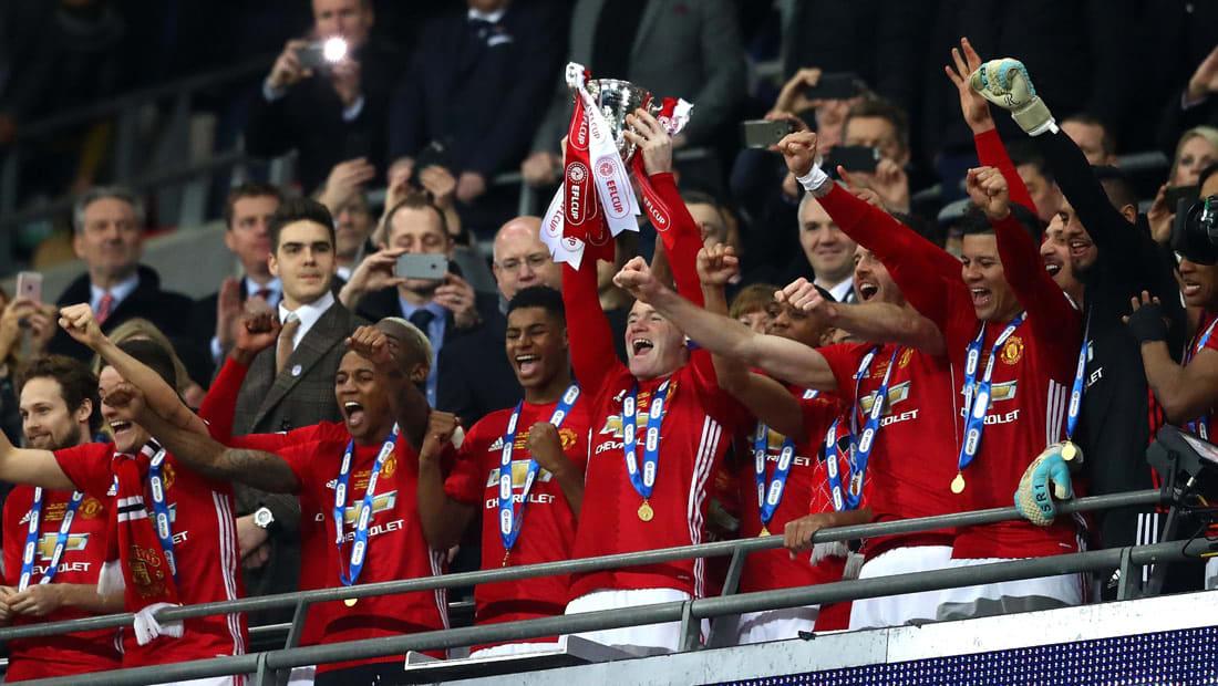 شياطين مانشستر أبطال كأس الرابطة الإنجليزية للمرة الخامسة