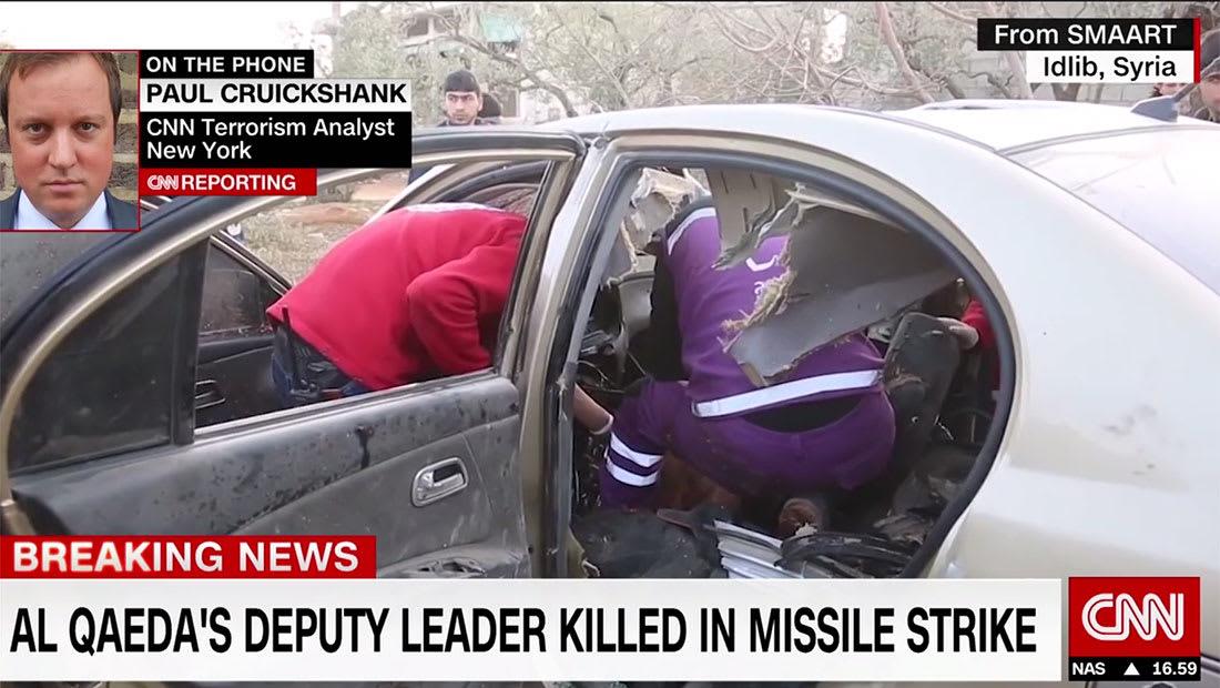 مصادر لـCNN: أمريكا تقف خلف ضربة في سوريا أدت لمقتل نائب الظواهري أبوالخير المصري