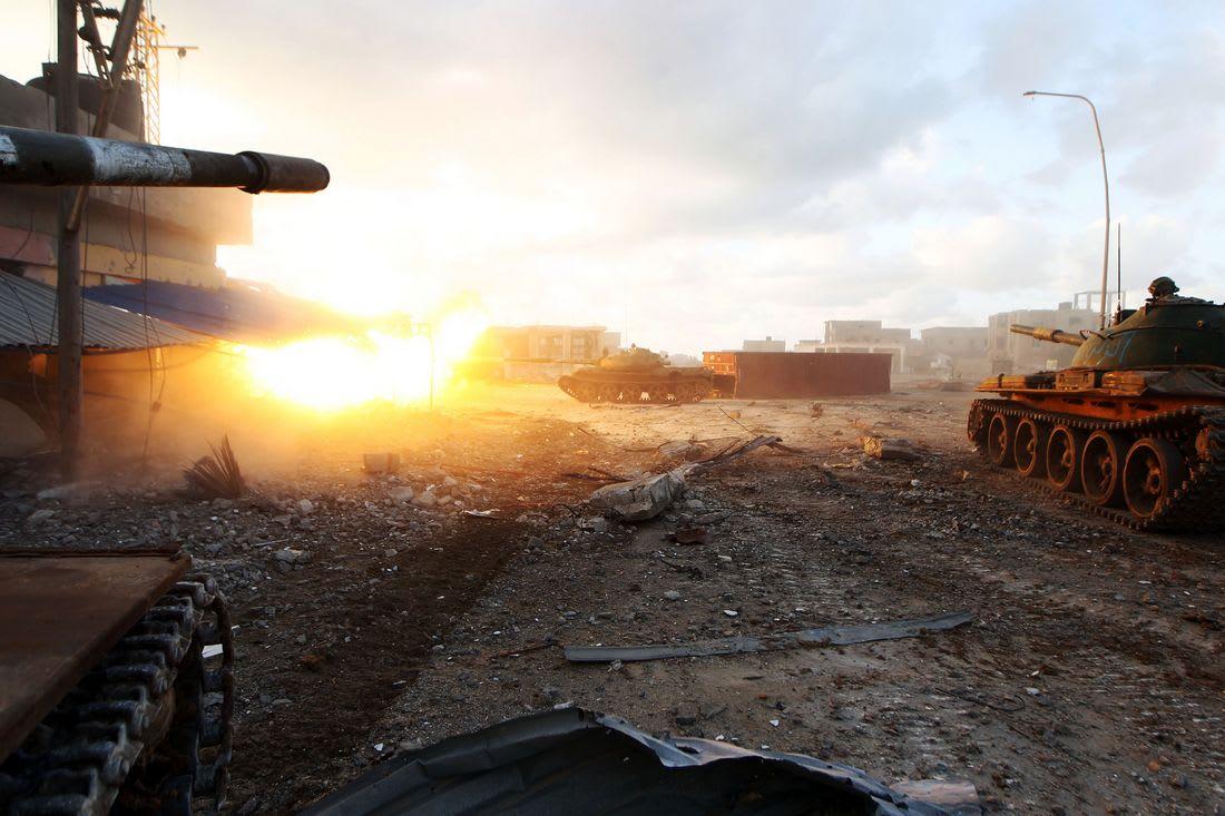 اشتباكات دامية في الهلال النفطي بين سرايا بنغازي وقوات حفتر