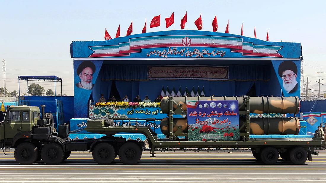 إيران تختبر منظومة S-300 الصاروخية الروسية