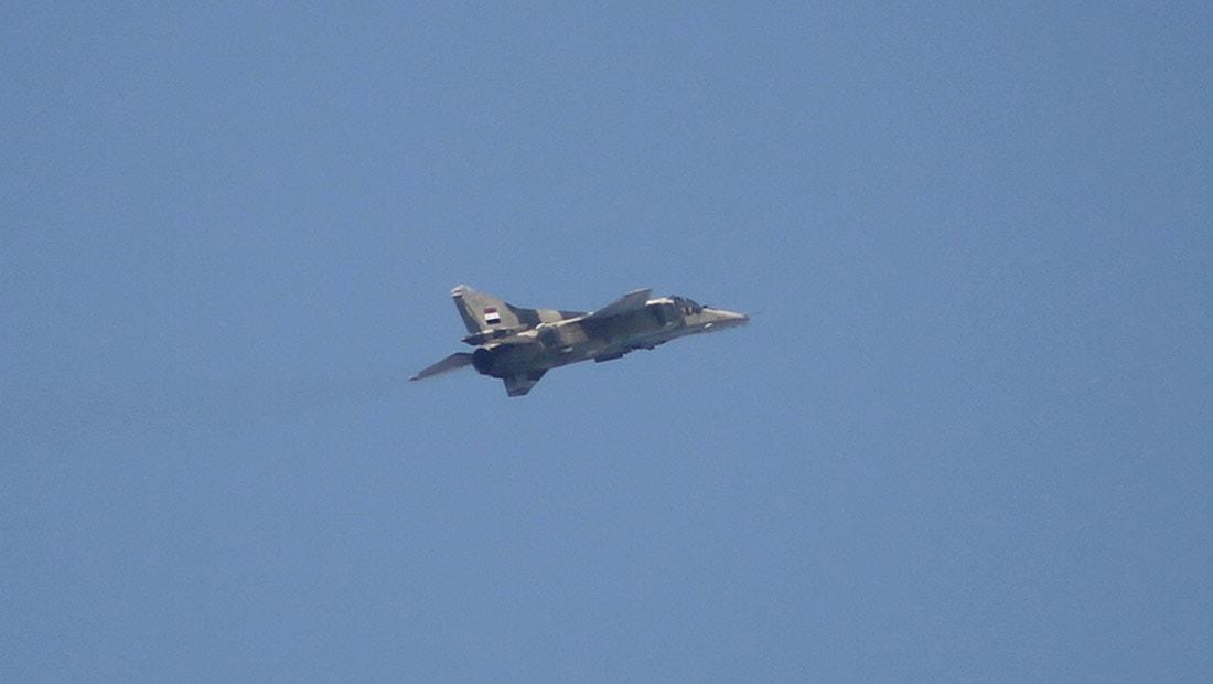 يلدريم: سقوط طائرة حربية سورية في الأراضي التركية