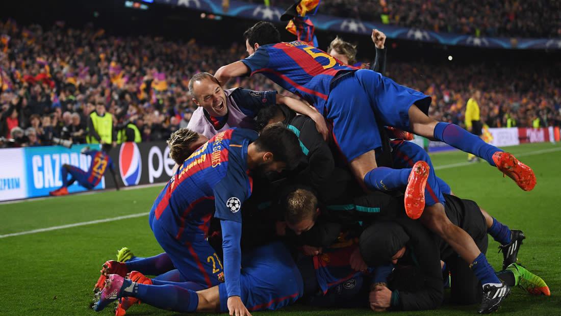 """5 أسباب أدت لحدوث """"معجزة برشلونة"""" أمام باريس سان جيرمان"""