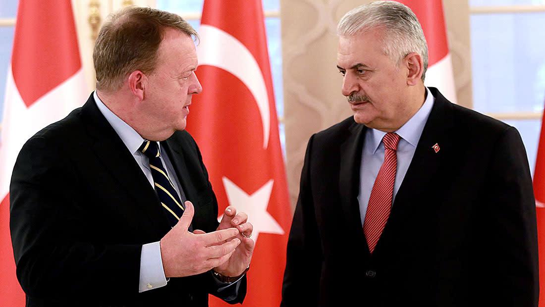 الدنمارك تؤجل زيارة رئيس وزراء تركيا إلى أجل غير مسمى بسبب هولندا