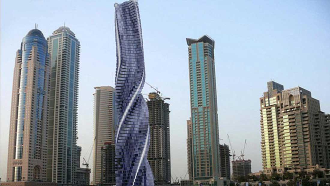 """دبي تخطط لبناء أول برج """"دوّار"""" في العالم"""