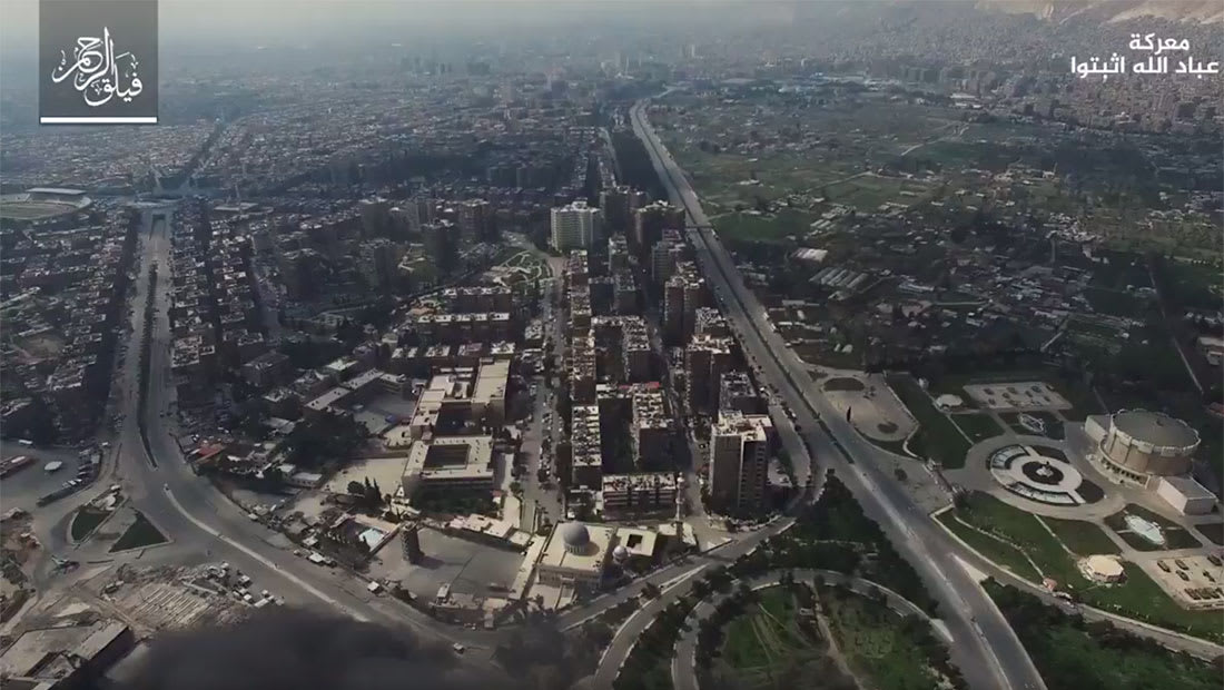 معارك دمشق تشتد وتوقع تطورات تقلب الموازين بحال وصول المعارضة لملعب العباسيين