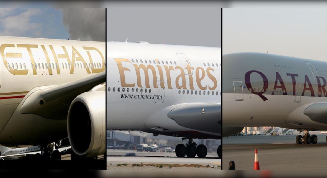 هذه مخاوف شركات الطيران الخليجية من حظر أمريكا لإلكترونيات الركاب بمقصورات الطائرات من الشرق الأوسط