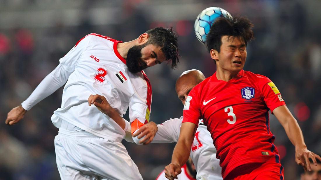 سوريا تخسر أمام كوريا الجنوبية بصعوبة في التصفيات