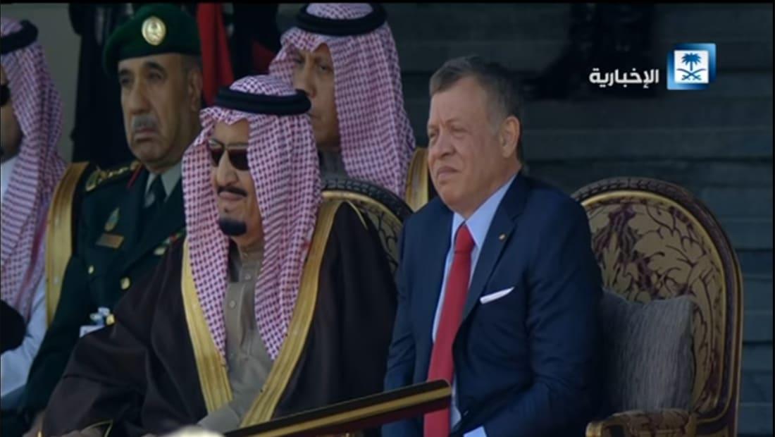 """وعيد """"للخوارج ومخالفي المنهج ومتبعي الشيطان"""" بقصيدة ترحيبية بالملك سلمان في الأردن"""