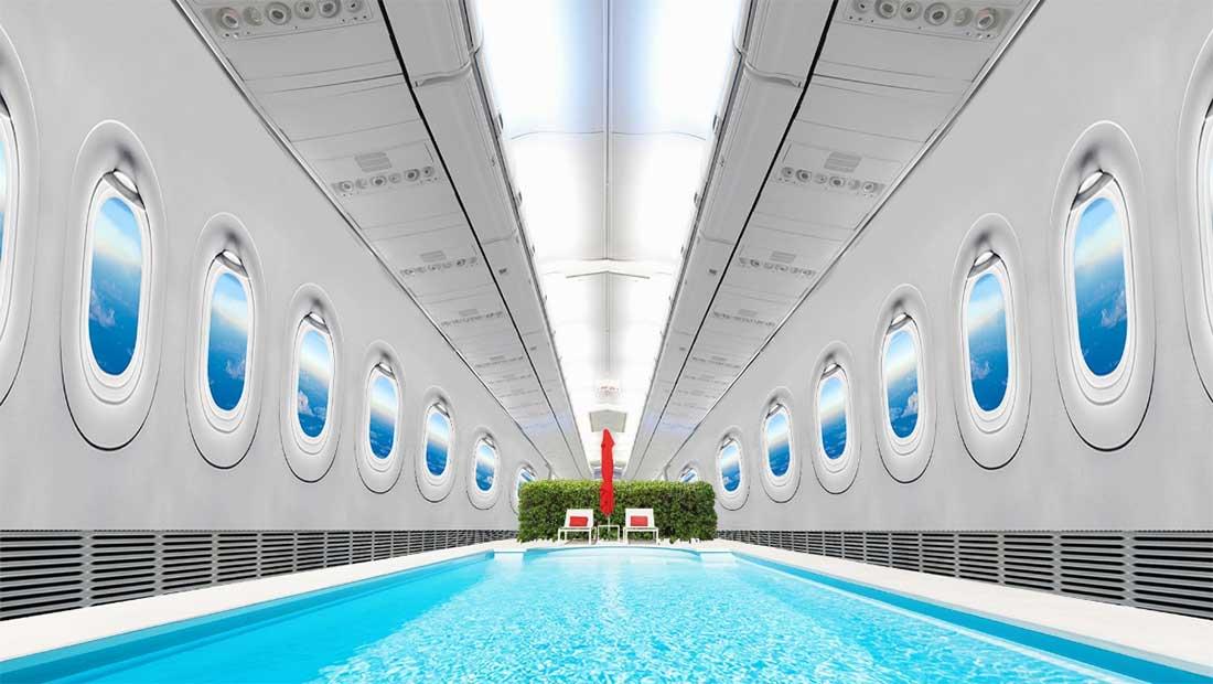 كذبة أم حقيقة؟ مسبح وصالة رياضية وغرفة ألعاب على متن طيران الإمارات!