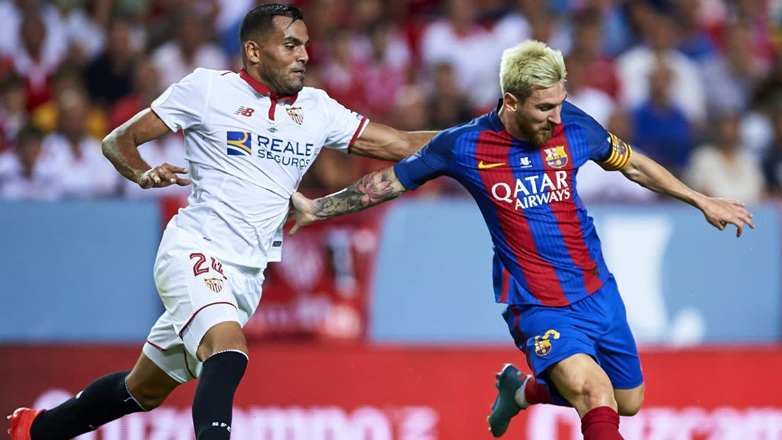 برشلونة يواجه إشبيلية وريال مدريد يلتقي ليغانيس بغياب رونالدو وبيل