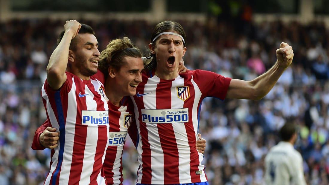 أتلتيكو مدريد يعاقب ريال مدريد ويقدم خدمة كبيرة لبرشلونة