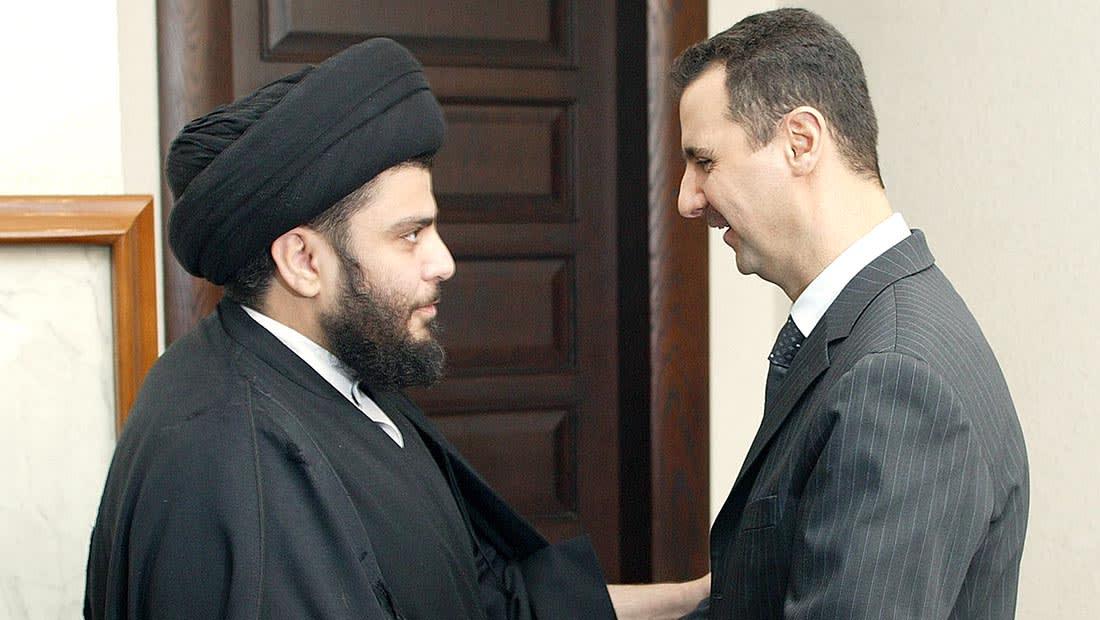 """الصدر يدعو الأسد للتنحي.. ويحذر ترامب من """"محرقة"""" و""""فيتنام جديدة"""""""