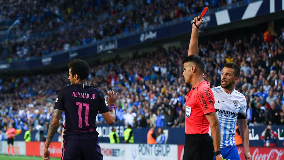 برشلونة يرفض هدية أتلتيكو مدريد ويسقط أمام ملقا