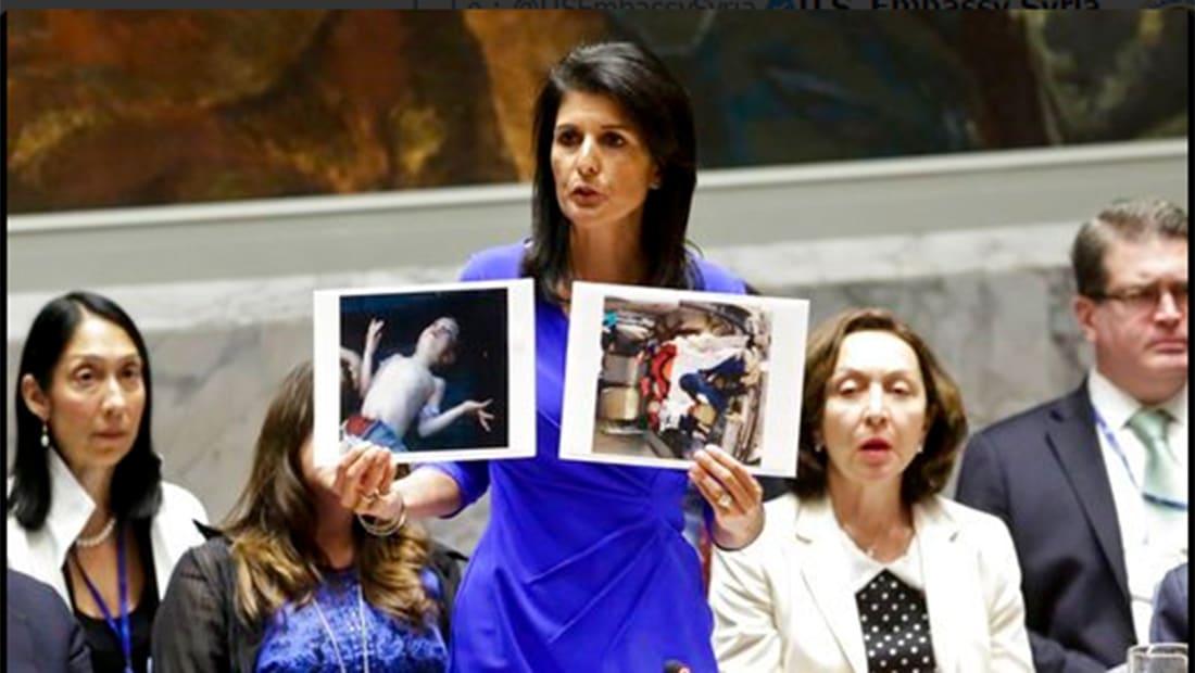 مبعوث أمريكا لسوريا: موسكو ودمشق أكدتا سابقا إزالة الكيماوي المستخدم بخان شيخون من سوريا