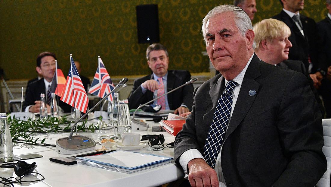 تيلرسون يهاجم روسيا قبل زيارتها: موسكو فشلت بضمان تدمير كيماوي الأسد