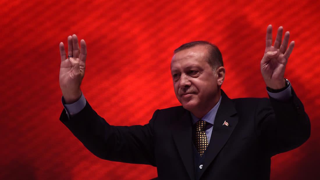 """العراق يحتج رسمياً على وصف أردوغان للحشد الشعبي بـ""""منظمة إرهابية"""""""