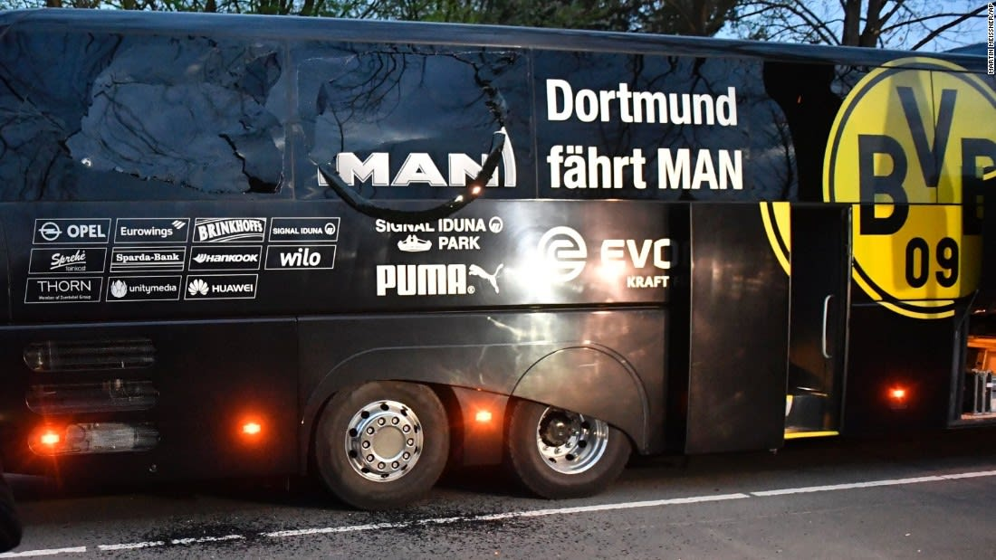 ألمانيا: اعتقال منفذ الهجوم على حافلة دورتموند.. والدافع كان مالياً وليس إرهابياً
