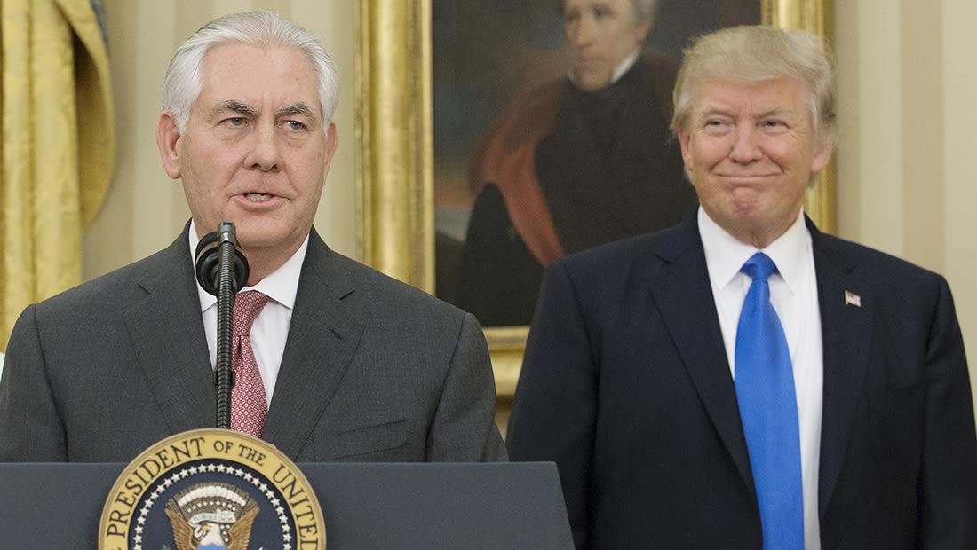 إدارة ترامب ترفض السماح لإكسون موبيل بالعمل في روسيا
