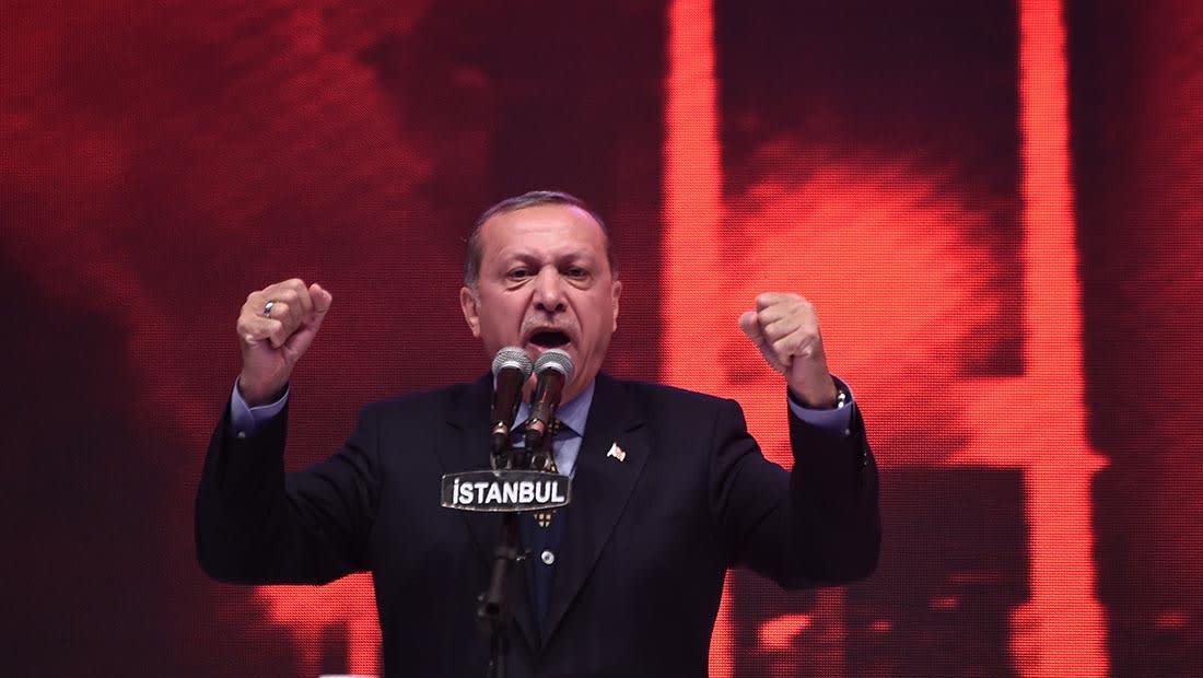 """أردوغان يدعو أمريكا إلى عملية مشتركة لتحويل الرقة إلى """"مقبرة لداعش"""""""