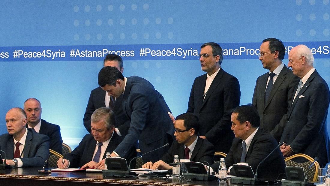 """المعارضة السورية المسلحة ترفض اتفاق """"المناطق الآمنة"""" واعتبار إيران """"دولة ضامنة"""""""