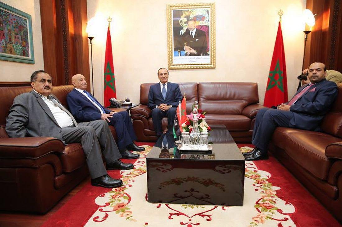 مجلس النواب الليبي ينتقد الجزائر.. ورئيسه يصل إلى المغرب