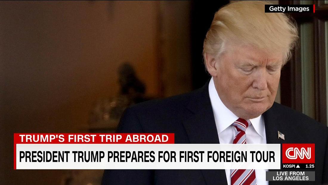 3 أهداف من رحلة ترامب التي تبدأ بالسعودية