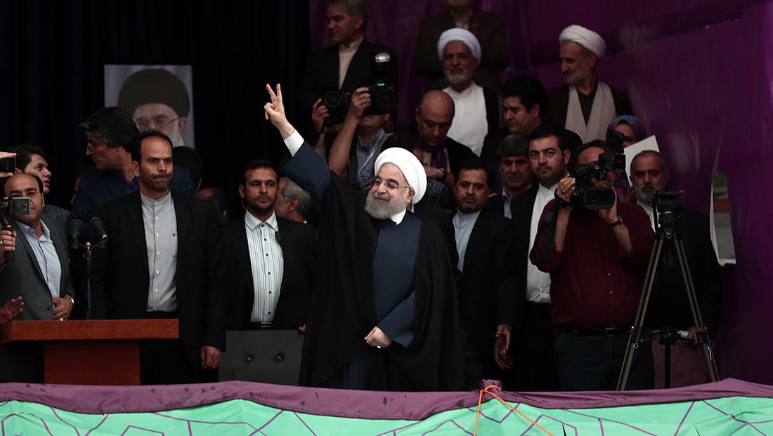 إيران تعلن رسميا فوز روحاني بـ57% من الأصوات بالانتخابات