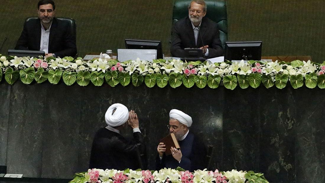 روحاني في بداية ولايته الثانية: نمد يد الصداقة إلى دول الجوار لبناء علاقات أفضل