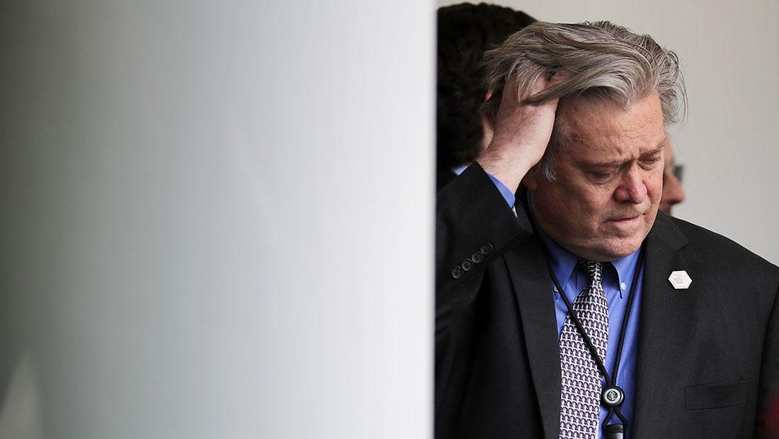 مصدران بإدارة ترامب لـCNN: ستيف بانون يغادر البيت الأبيض