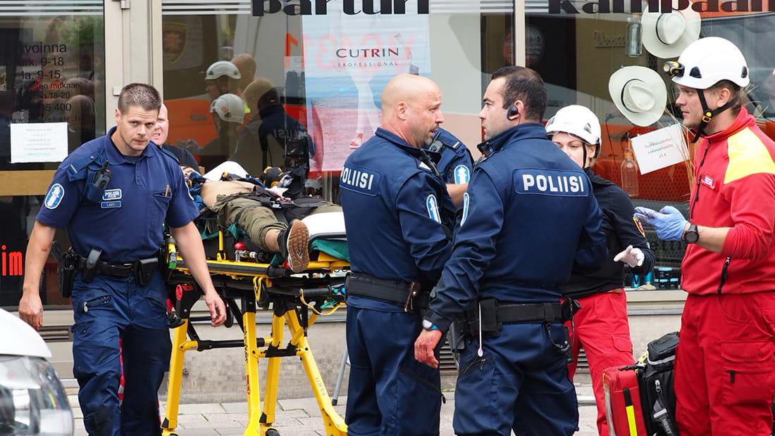 """فنلندا: المشتبه به بحادث الطعن مغربي والتعامل مع الهجوم كـ""""عمل إرهابي"""""""