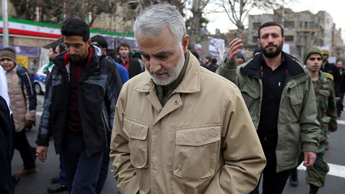 """سليماني يتهم السعودية بالسعي إلى """"إشعال حرب مذهبية"""".. وينتقد مساجد مصر والأردن"""