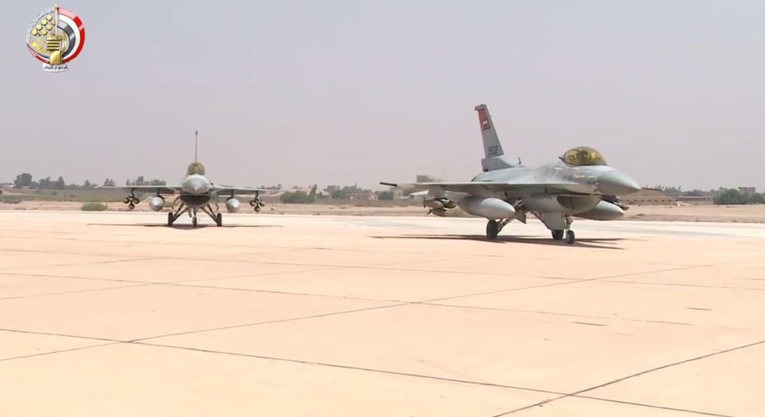 بالفيديو.. مصر تنفذ عمليتين جويتين على الحدود الغربية والشرقية