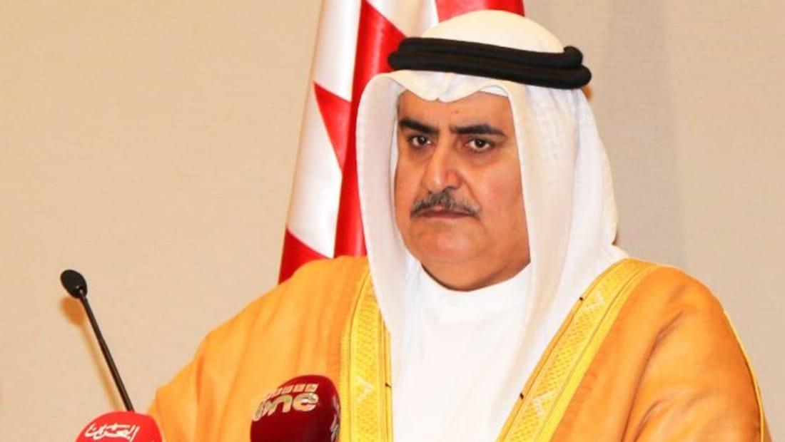 وزير خارجية البحرين: كيف تهمل قطر رعاية الملك سلمان وتطيع مقاولي الحج؟!